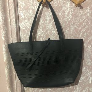 FINAL SALE Black Splendid Tote Bag